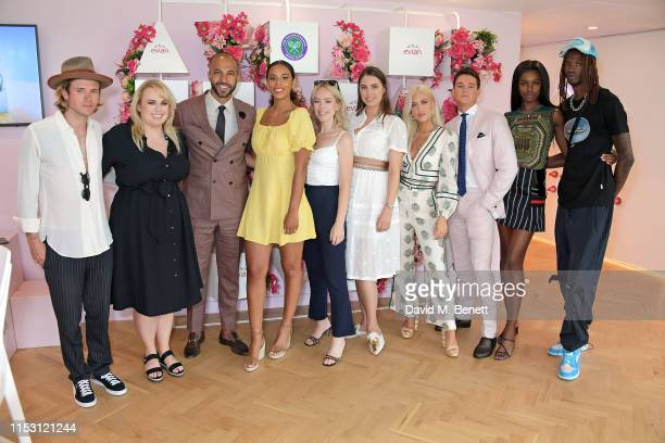 Dougie Poynter Rebel Wilson Marvin Humes Rochelle Humes Tanya Burr Amber Le Bon Lottie Tomlinson Sam Prince Leomie Anderson and Lancey Foux attend...