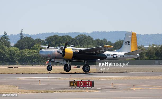 Douglas A-26C AirTanker  'Lead Sled' Taking Off