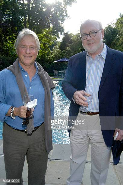 Douglas Baxter and James Yohe attend KAREN LAGATTA MARSHALL G ALLAN Host a Cocktail Reception In Honor Of KLAUS KERTESS HEINER FRIEDRICH at East...