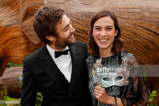Douglas Booth and Alexa Chung attend The Animal Ball presented by Elephant Family at Lancaster House on June 13 2019 in London England