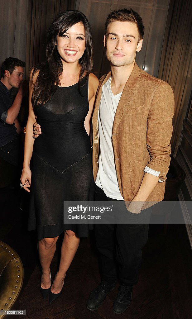 Douglas Booth and Daisy Lowe attend The London Edition opening celebrating the September issue of W Magazine at The London Edition Hotel on September 14, 2013 in London, England.