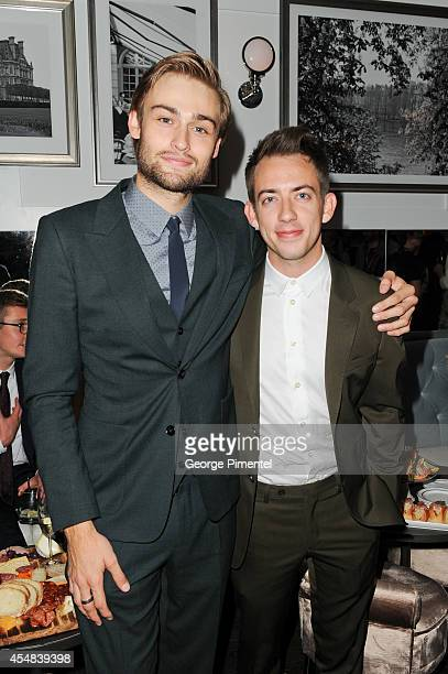 Douglas Booth and Kevin Mchale attend the Post Premiere Party for 'The Riot Club' sponsored By Hugo Boss and GQ 2014 Toronto International Film...