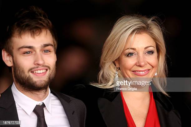 Douglas Booth and Nadja Swarovski attend 'Romeo And Juliet' Premiere during The 8th Rome Film Festival on November 11 2013 in Rome Italy