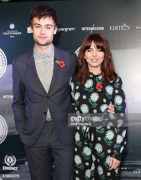 Douglas Booth and Ophelia Lovibond attend the nominations announcement for the British Independent Film Awards 2016 at The London EDITION on November...