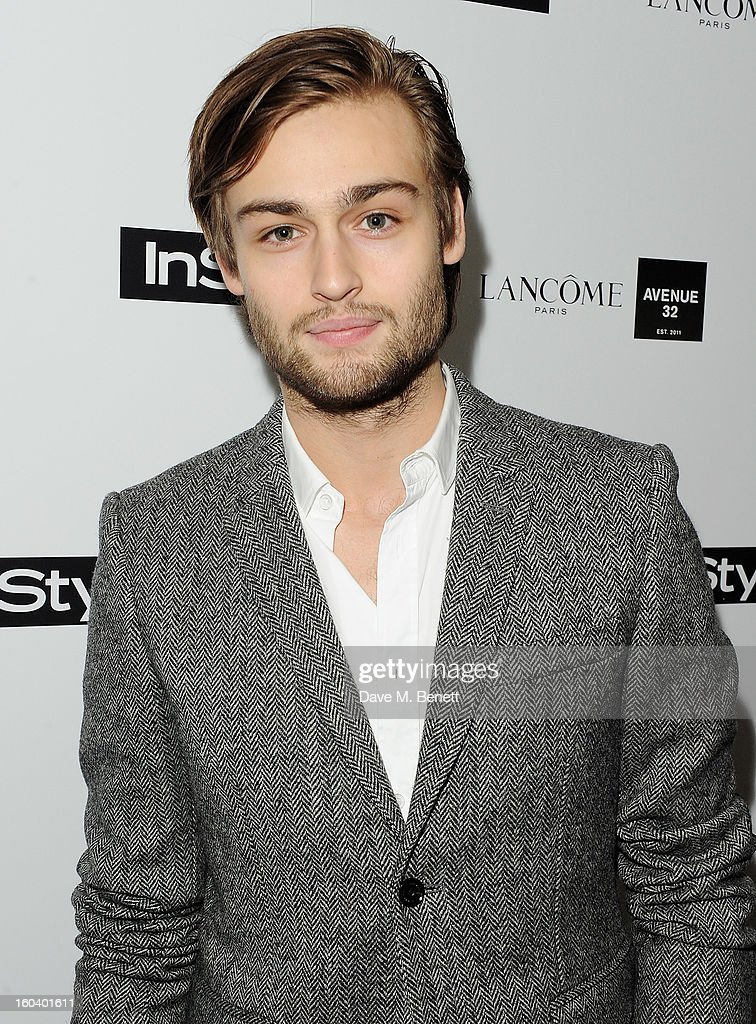 Douglas Booth arrives at the InStyle Best Of British Talent party in association with Lancome and Avenue 32 at Shoreditch House on January 30, 2013 in London, England.