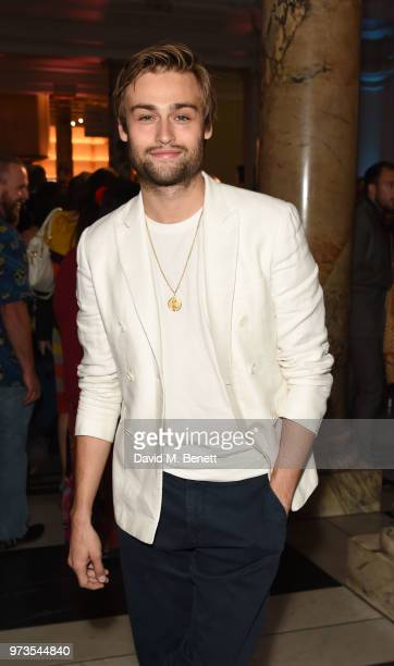 Douglas Booth attends a private view of 'Frida Kahlo Making Her Self Up' at The VA on June 13 2018 in London England
