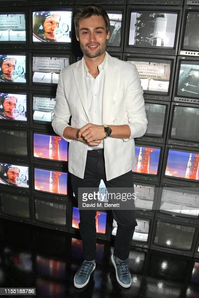 Douglas Booth attends an OMEGA dinner celebrating the 50th anniversary of the Moon Landing at Television Centre on July 11 2019 in London England
