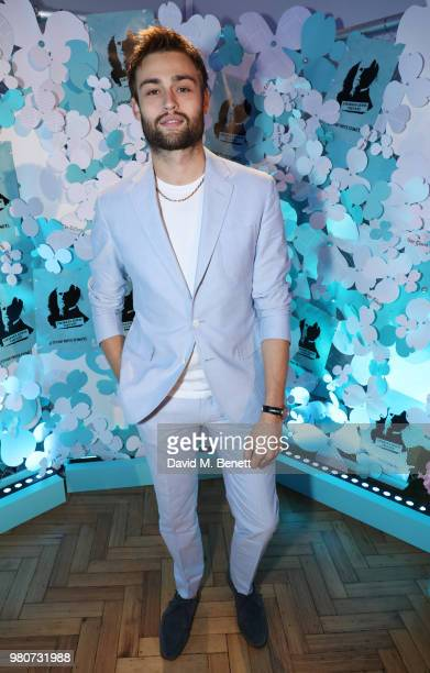 Douglas Booth attends as Tiffany Co celebrates the launch of the Tiffany Paper Flower collection at The Lindley Hall on June 21 2018 in London England
