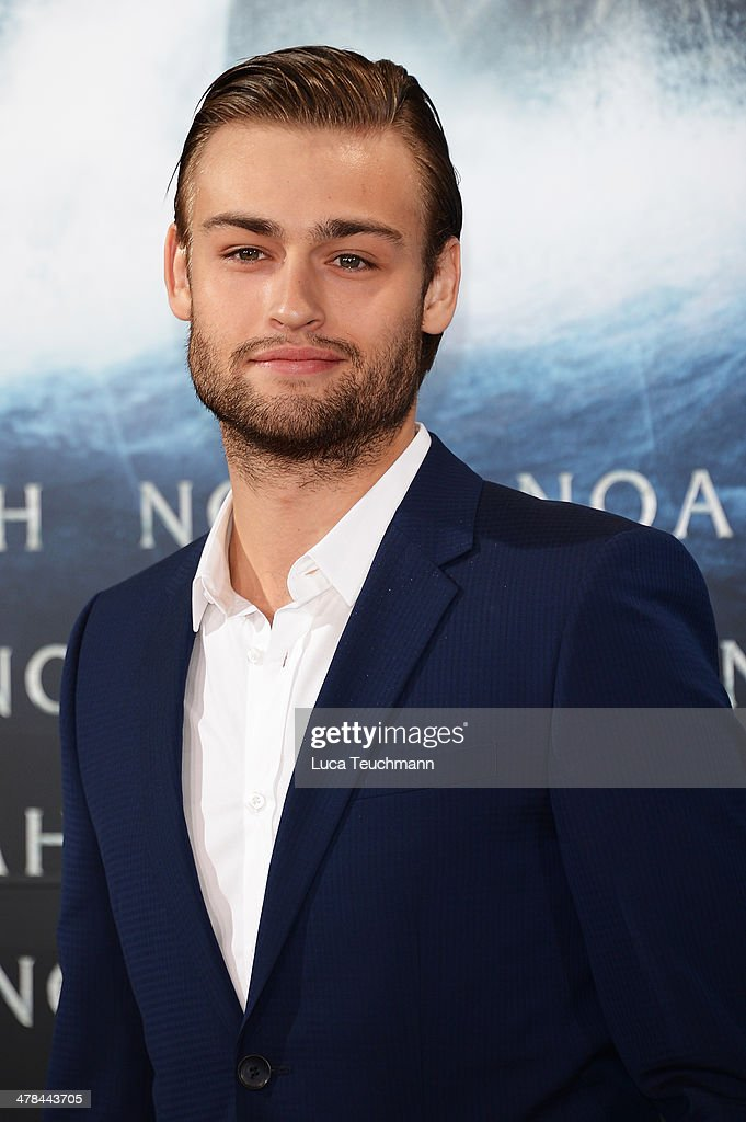 Douglas Booth attends 'Noah' Germany Premiere at Zoo Palast on March 13, 2014 in Berlin, Germany.