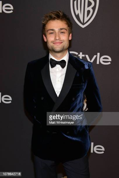Douglas Booth attends the 2019 InStyle and Warner Bros 76th Annual Golden Globe Awards PostParty at The Beverly Hilton Hotel on January 6 2019 in...