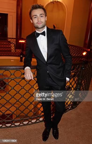 Douglas Booth attends The 64th Evening Standard Theatre Awards at the Theatre Royal Drury Lane on November 18 2018 in London England