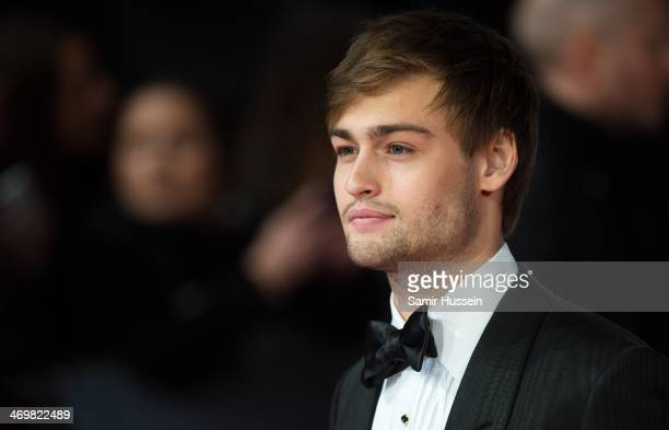 Douglas Booth attends the EE British Academy Film Awards 2014 at The Royal Opera House on February 16 2014 in London England