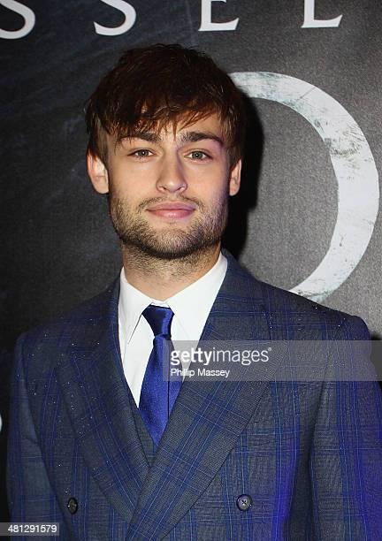 Douglas Booth attends the Irish premiere of 'Noah' at Savoy Cinema on March 29 2014 in Dublin Ireland
