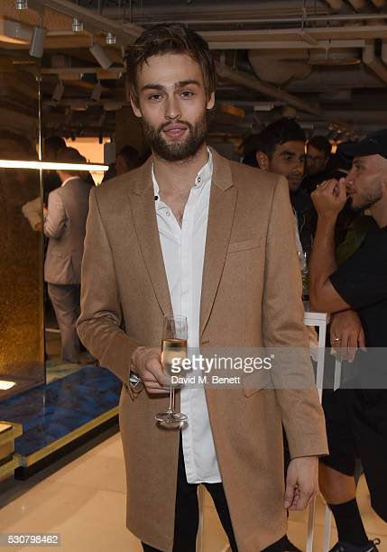 Douglas Booth attends the launch of Harvey Nichols new menswear department on May 11 2016 in London England