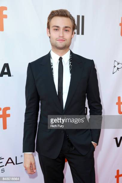 Douglas Booth attends the Mary Shelley premiere during the 2017 Toronto International Film Festival at Roy Thomson Hall on September 9 2017 in...