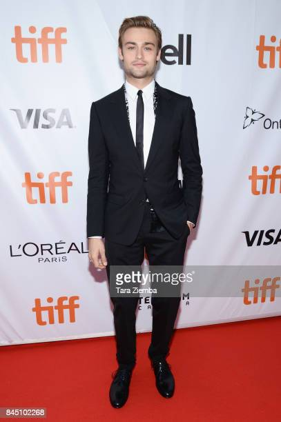 Douglas Booth attends the 'Mary Shelley' premiere during the 2017 Toronto International Film Festival at Roy Thomson Hall on September 9 2017 in...