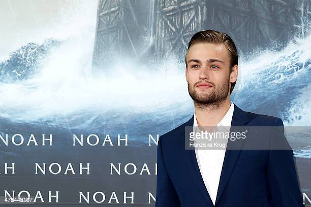 Douglas Booth attends the 'Noah' Germany Premiere at Zoo Palast on March 13 2014 in Berlin Germany
