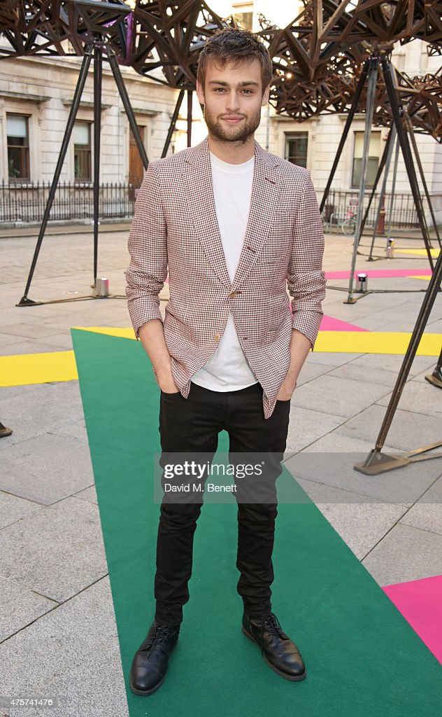 Douglas Booth attends the Royal Academy of Arts Summer Exhibition preview party at the Royal Academy of Arts on June 3, 2015 in London, England.