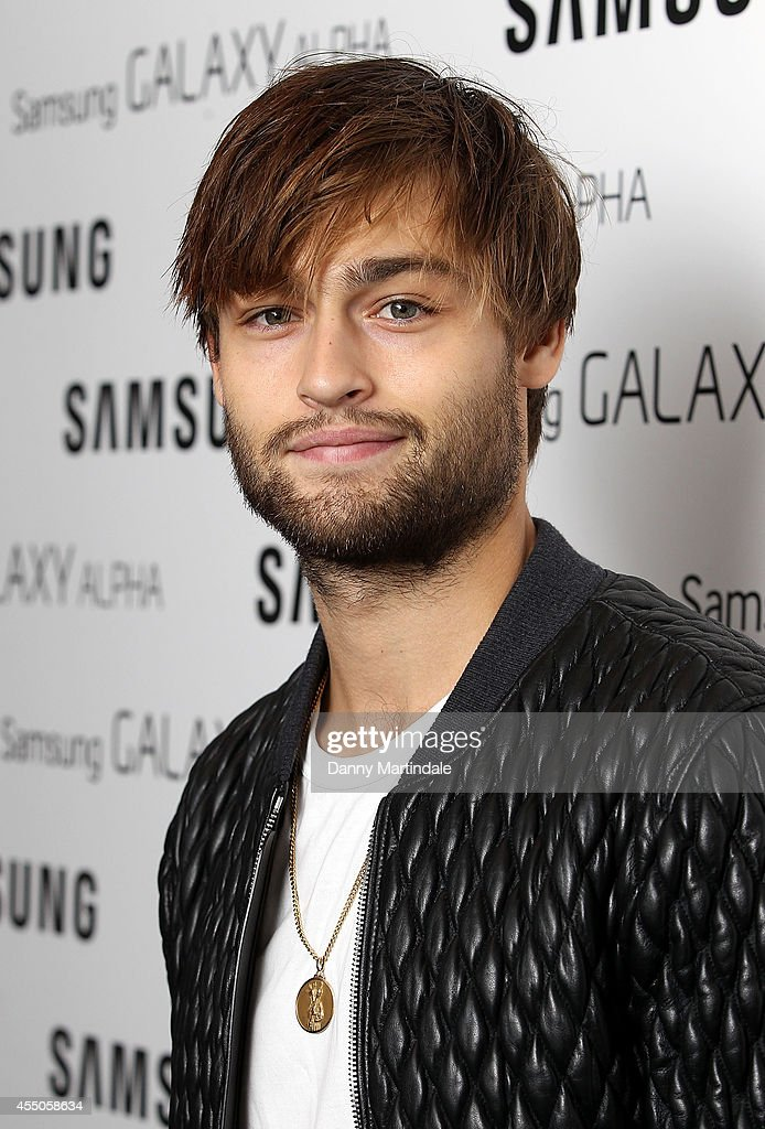 Douglas Booth attends the Samsung Galaxy Alpha Launch party at The Collection on September 9, 2014 in London, England.