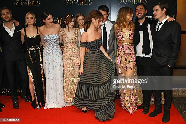 Douglas Booth Bella Heathcote Millie Brady Ellie Bamber Hermione Corfield Lily James Matt Smith Suki Waterhouse Jack Huston and Sam Riley attend the...