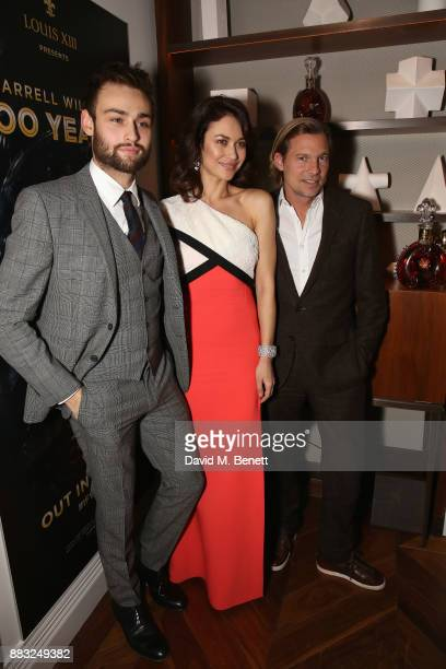 Douglas Booth Olga Kurylenko and Ludovic du Plessis attend as LOUIS XIII and Dylan Jones GQ Editor in Chief cohost Intimate Dinner Celebrating the...