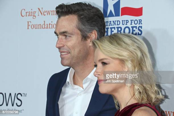 Douglas Brunt and journalist Megyn Kelly attend the 11th Annual Stand Up for Heroes at The Theater at Madison Square Garden on November 7 2017 in New...