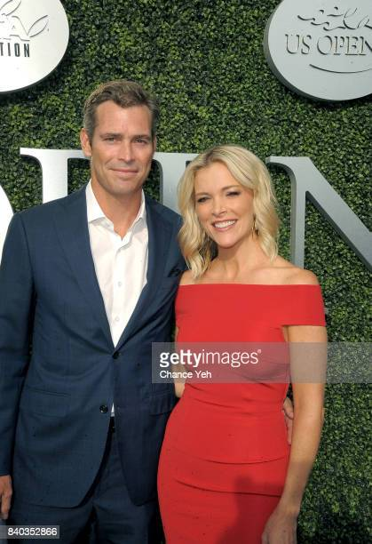 Douglas Brunt and Megyn Kelly attend 17th Annual USTA Foundation opening night gala at USTA Billie Jean King National Tennis Center on August 28 2017...