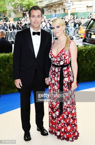 Douglas Brunt and Megyn Kelly attend 'Rei Kawakubo/Comme des Garcons Art Of The InBetween' Costume Institute Gala at Metropolitan Museum of Art on...
