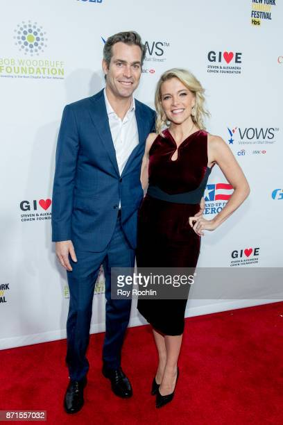 Douglas Brunt and Megyn Kelly attend the 11th Annual Stand Up for Heroes at The Theater at Madison Square Garden on November 7 2017 in New York City