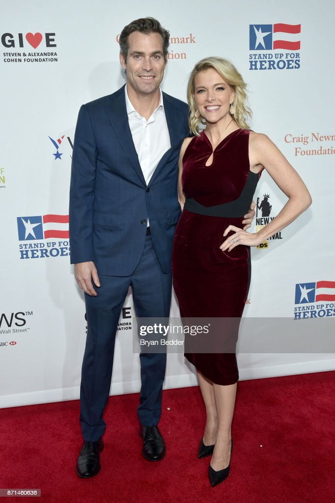 Douglas Brunt and Megyn Kelly attend the 11th Annual Stand Up for Heroes Event presented by The New York Comedy Festival and The Bob Woodruff Foundation at The Theater at Madison Square Garden on November 7, 2017 in New York City.