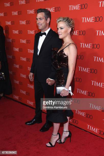 Douglas Brunt and Megyn Kelly attend the 2017 Time 100 Gala at Jazz at Lincoln Center on April 25 2017 in New York City