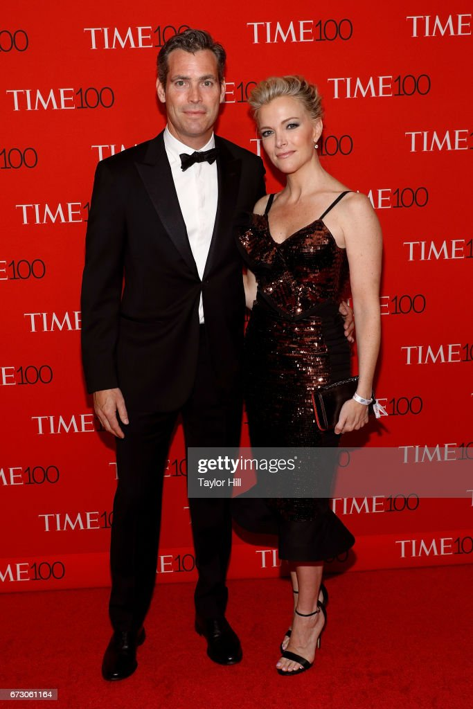 Douglas Brunt and Megyn Kelly attend the 2017 Time 100 Gala at Jazz at Lincoln Center on April 25, 2017 in New York City.