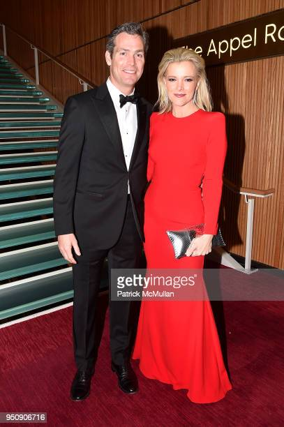 Douglas Brunt and Megyn Kelly attend the 2018 TIME 100 Gala at Jazz at Lincoln Center on April 24 2018 in New York City