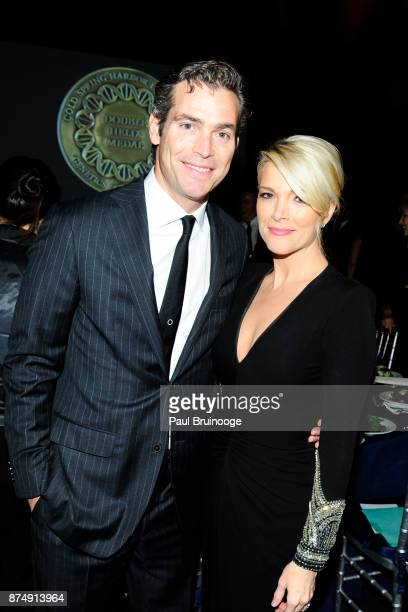 Douglas Brunt and Megyn Kelly attend the Cold Spring Harbor Laboratory Double Helix Medals Dinner at the American Museum of Natural History Street on...