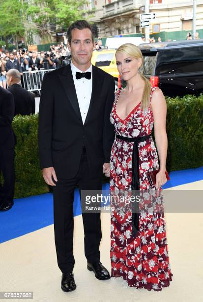 Douglas Brunt and Megyn Kelly attend the 'Rei Kawakubo/Comme des Garcons Art Of The InBetween' Costume Institute Gala at the Metropolitan Museum of...