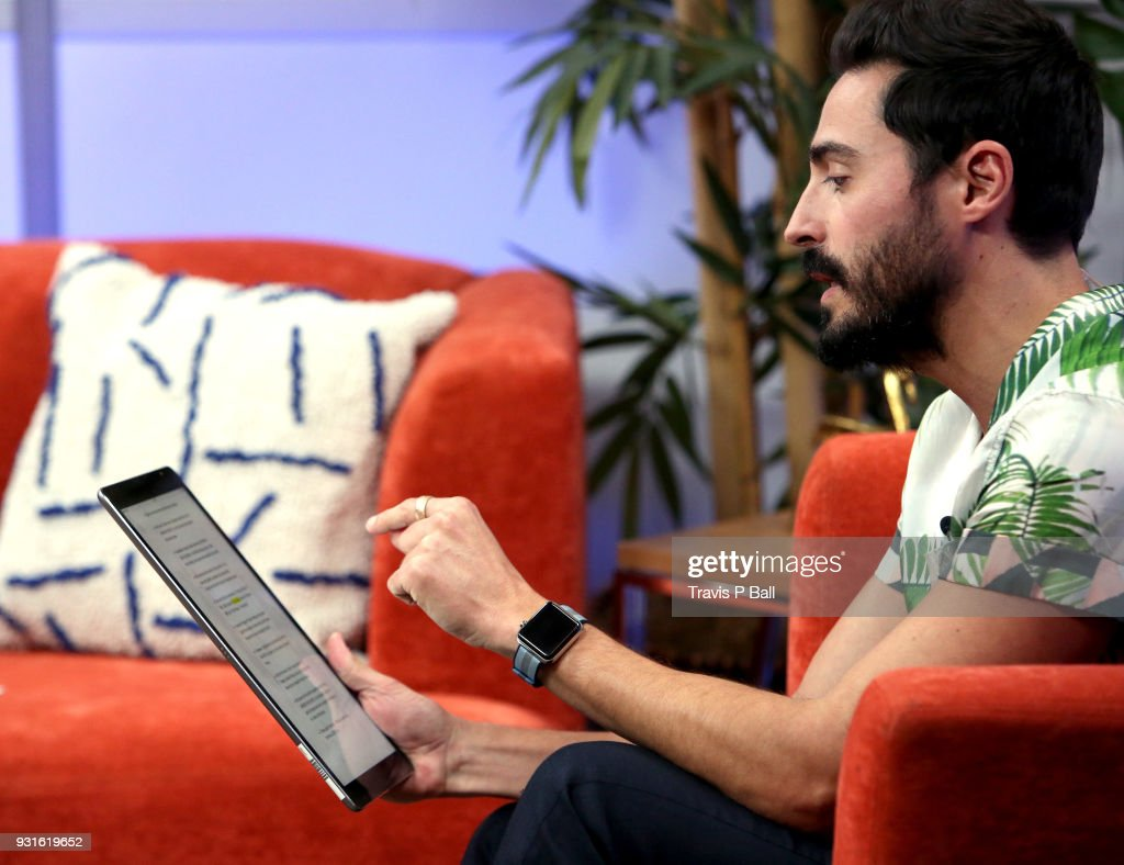 Douglas Caballero speaks at The SXSW Facebook Live Studio: Ray Kurtzwell - 2018 SXSW Conference and Festivals at JW Marriott Austin on March 13, 2018 in Austin, Texas.