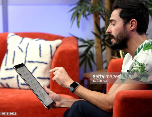 Douglas Caballero speaks at The SXSW Facebook Live Studio Ray Kurtzwell 2018 SXSW Conference and Festivals at JW Marriott Austin on March 13 2018 in...
