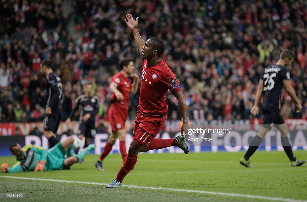 FC Bayern Munchen v GNK Dinamo Zagreb - UEFA Champions League : News Photo