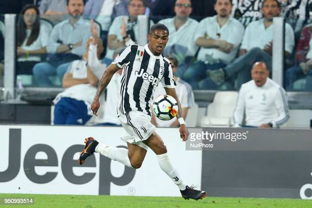 Douglas Costa of Juventus at Allianz Stadium in Turin Italy on February 22 during Juventus v SSC Napoli