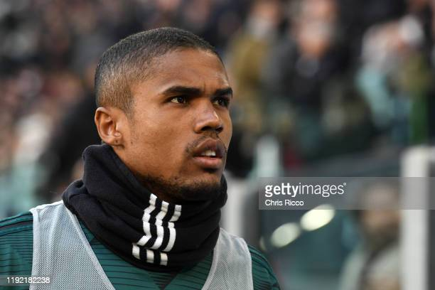 Douglas Costa of Juventus during the Serie A match between Juventus and Cagliari Calcio at Allianz Stadium on January 6 2020 in Turin Italy