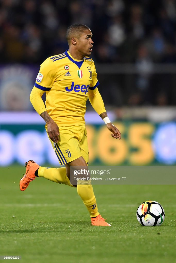 Douglas Costa of Juventus during the serie A match between Spal and Juventus at Stadio Paolo Mazza on March 17, 2018 in Ferrara, Italy.