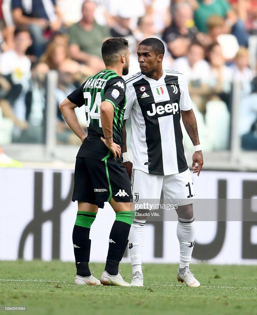 Juventus v US Sassuolo - Serie A : Foto jornalística