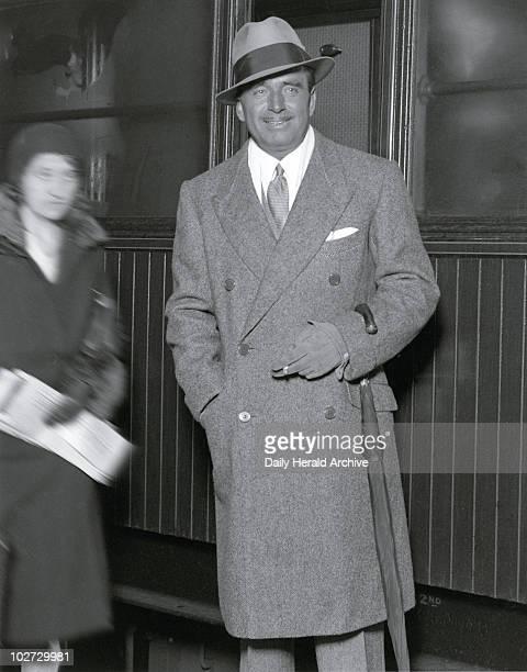 Douglas Fairbank Senior arriving in London 26 April 1931 Douglas Fairbank Senior arriving in London 26 April 1931 Douglas Elton Fairbanks American...