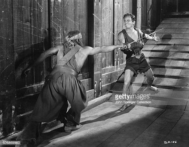 Douglas Fairbanks in the Film The Black Pirate