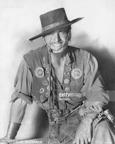 Douglas Fairbanks Sr. In vaquero costume.