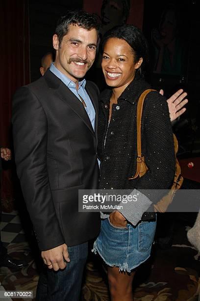 Douglas Friedman and Bonnie Morrison attend CALVIN KLEIN INC Wilhelmina Models Surprise Party for GABRIEL AUBRY at Rose Bar @ The Gramercy Park Hotel...