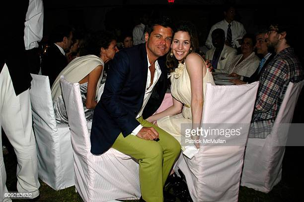 Douglas Hannant and Jill Bikoff attend The Parrish Art Museum Midsummer Party Honoring Director Trudy C Kramer at Southampton on July 14 2007