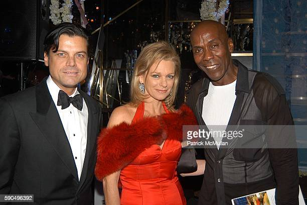 Douglas Hannant Debbie Bancroft and Preston Bailey attend Preston Bailey Event Designer for the Wedding of Donald Trump and Melania Knauss Celebrates...