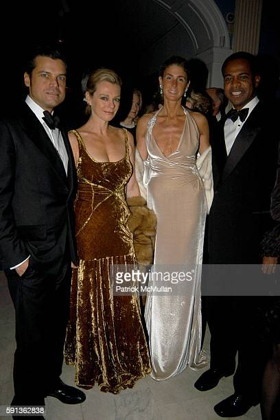 Douglas Hannant Debbie Bancroft Somers Farkas and Frederick Anderson attend The Director's Council of the Museum of the City of New York Winter Ball...