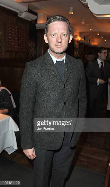 Douglas Henshall attends the 20th anniversary of the famous restaurant at The Ivy on November 9 2010 in London England